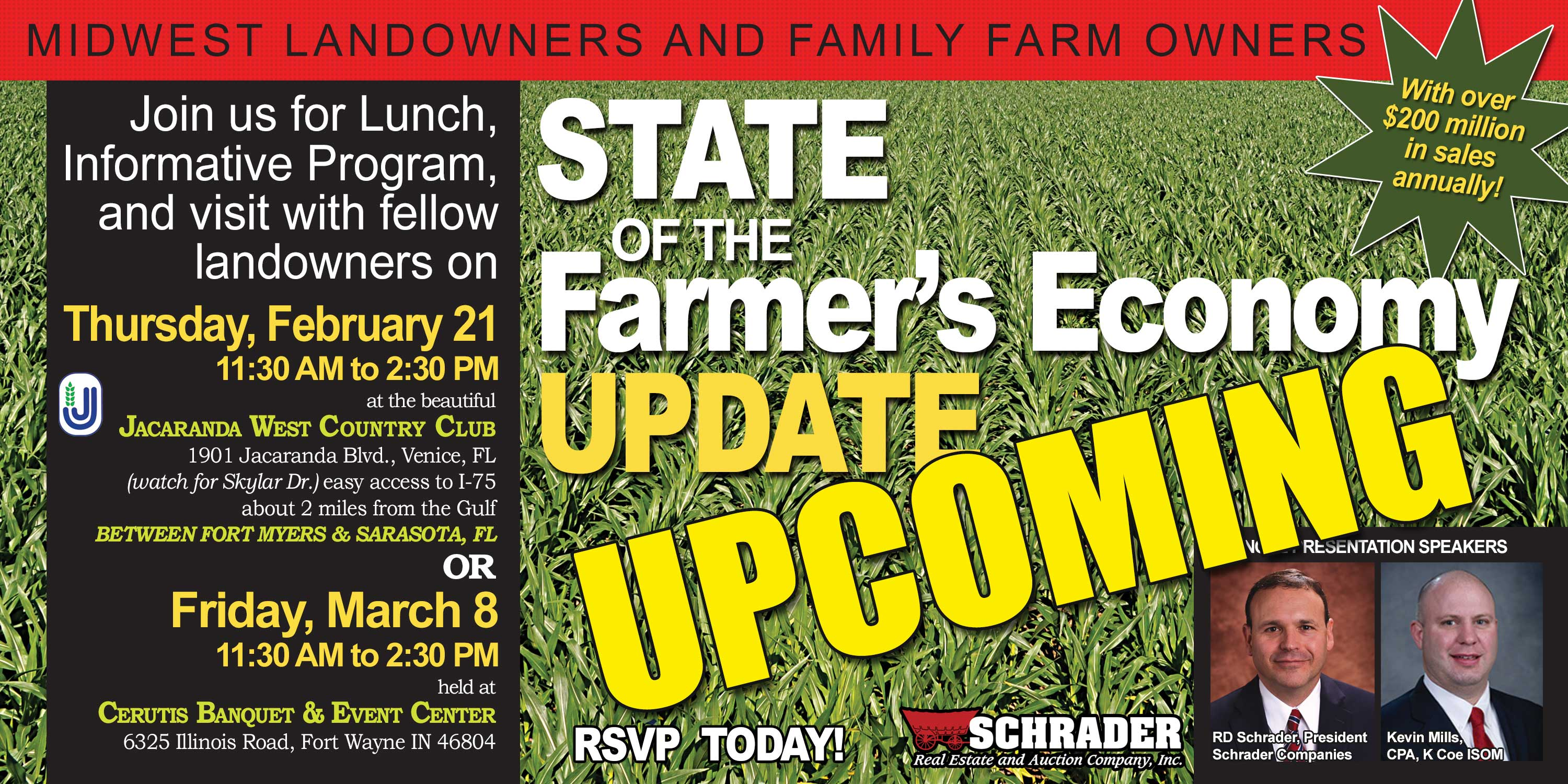 Midwest Landowners and Family Farm Owners Meeting